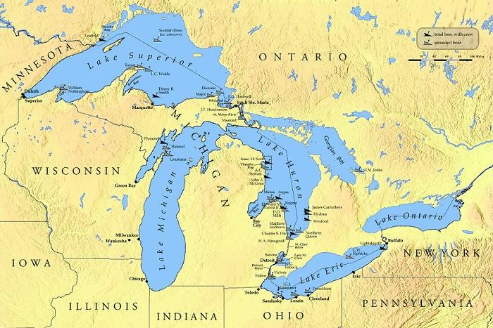 I grandi laghi